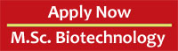 MSc Biotechnology Admission, Pune