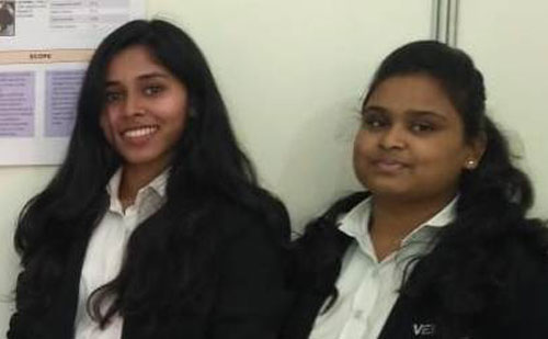 Kalaivani D and Rukshara Rathore - SSBS