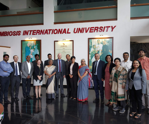 University of Adelaide team at SSBS, Pune