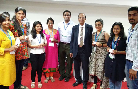 M.Sc. Biotechnology students at Food Industry CSIR CFTRI Conclave, 2018