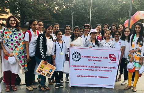 SSBS in collaboration with NSI, Pune Chapter at the Swastha Bharat Yatra, 2019