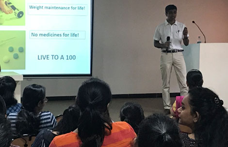 Dr. Malhar Ganla talks on Nutrition for Physically Active Obese Child