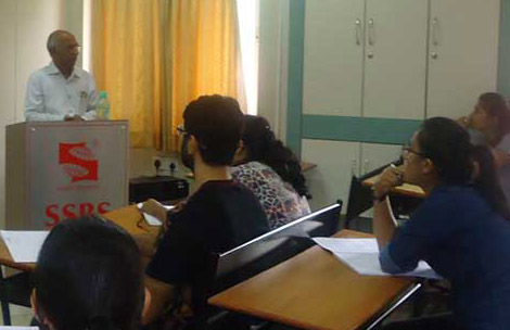 Guest lecture by Dr. Naik, HOD, Biochemistry, KEM Hospital