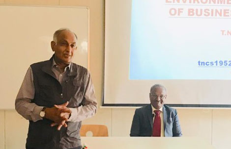 Talk by Mr. T.N.C. Sridhar