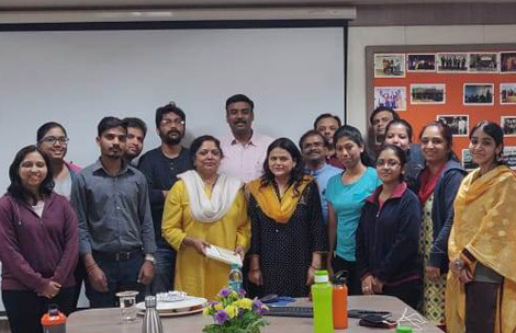 Ph.D. Course Work with Dr. Sharvari Shukla, Batch 2018