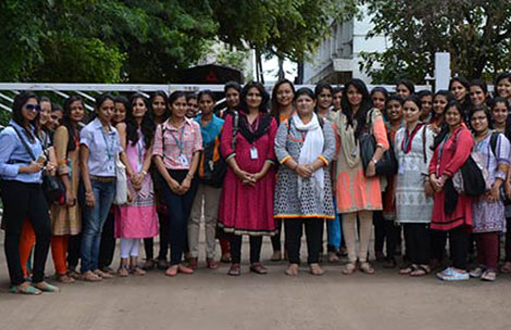 Student's visit to Suhana Masale Plant