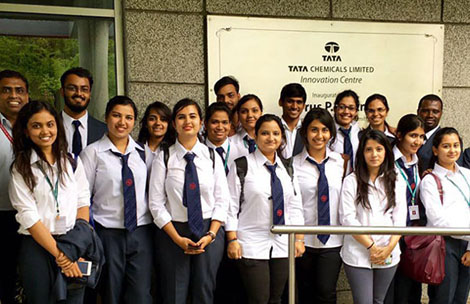 Student's visit to Tata Chemicals – Innovation Centre