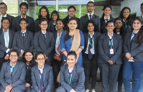 Student's visit to Tata Innovation Centre