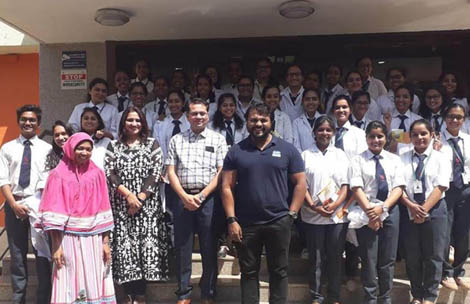 Student's visit to Venky's Nutrition Plant, Morwadi