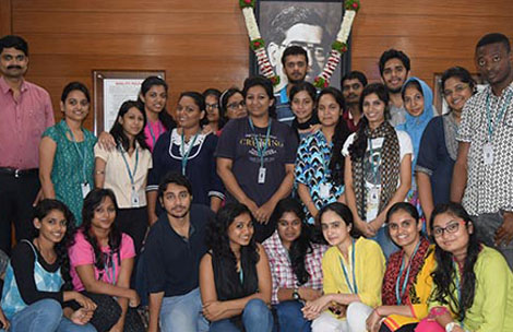 Student's visit to Ventri Biologicals, Hinjewadi